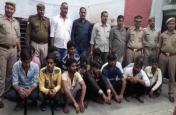 इस शहर की पुलिस और बीटा टीम ने गिरफ्तार किए 14 सट्टेबाज, मची खलबली