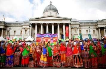 लंदन के ट्राफलगर स्क्वायर में भारतीय समुदाय ने आयोजित किया दिवाली पूर्व समारोह, देखें वीडियो