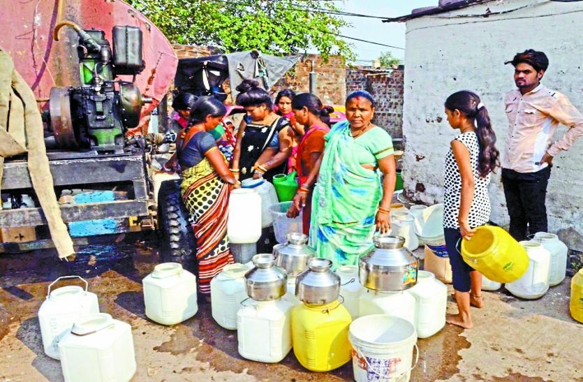 56 करोड़ रुपए खर्च, फिर भी अब तक 60 फीसदी को ही मिला पानी
