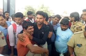जबलपुर-अजमेर एक्सप्रेस की चपेट में आने से छात्र की मौत