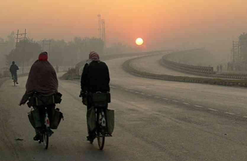 राजस्थान में गुलाबी ठण्ड का बढ़ा अहसास, माउंट आबू में पारा हुआ 9 डिग्री