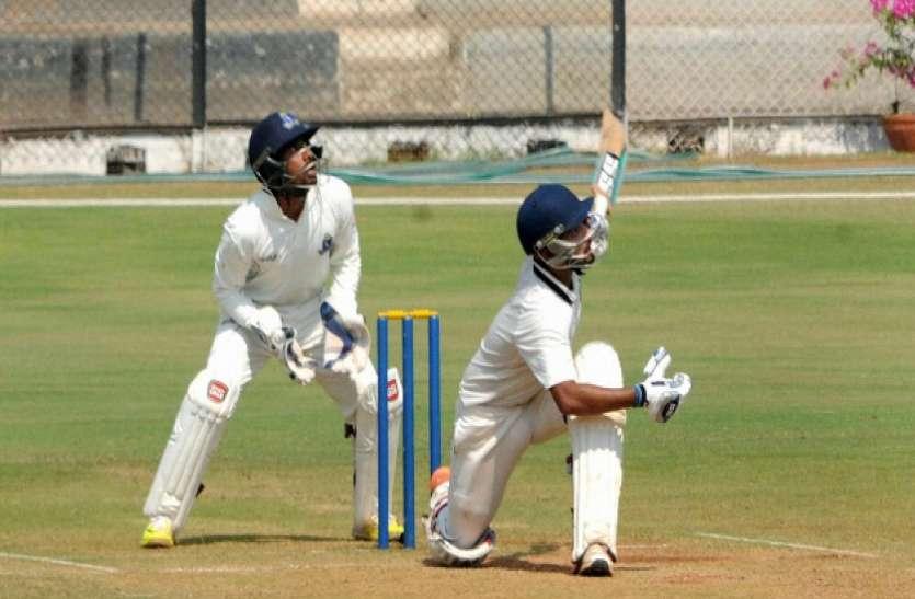 रणजी ट्रॉफी राजस्थान को पहली पारी में मिली 175 रन की बढ़त