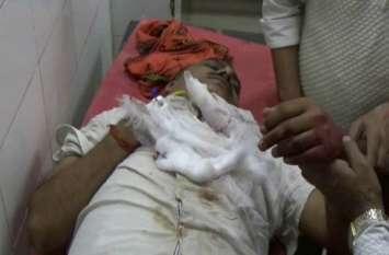 रायबरेली के हीरा व्यवसायी को जौनपुर में गोली मारकर एक करोड़ 70 लाख की लूट