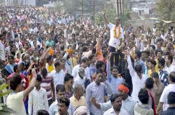 Photo Gallery :- शक्ति प्रदर्शन कर भाजपा और जोगी कांग्रेस ने दाखिल किया नामांकन