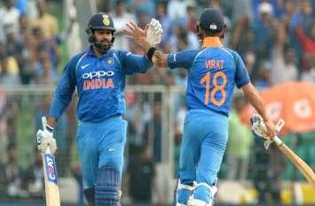 ICC ने जारी की ताजा ODI रैंकिंग, टॉप 5 में चार भारतीय खिलाड़ी- करियर बेस्ट पर रोहित