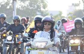 शहर में मतदाता जागरुकता वाहन रैली निकाली