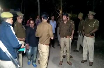 15 हजार के इस इनामी बदमाश को पुलिस ने मुठभेड़ में किया पस्त, एक हुआ फरार