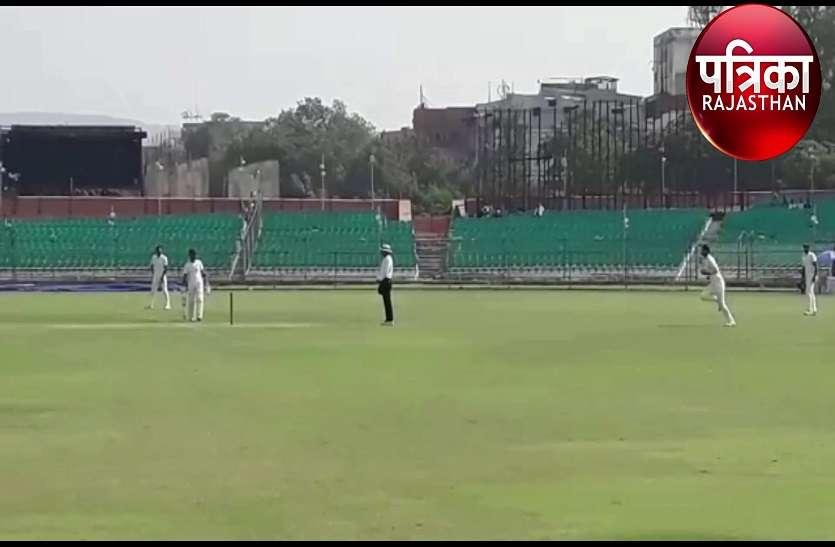 टीम राजस्थान ने जीता रणजी मैच