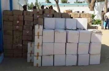 चेकिंग के दौरान इस जिले में पकड़ी गई 100 पेटी अवैध शराब, 7 गिरफ्तार