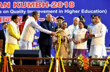 राष्ट्रपति ने हरिद्वार में किया ज्ञान कुंभ का उद्घाटन,बोले-शिक्षकों का काम है प्रतिभा को तलाशना और संवारना