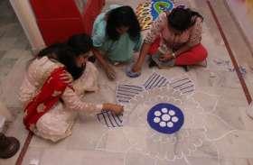 जोधपुर आईनिफ्ड ने एनवायरमेंट की फ्रिक करते हुए दिवाली मनाई