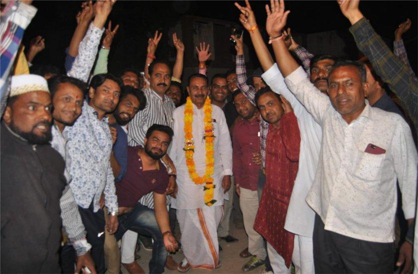 कराड़ा को ७वीं बार पार्टी ने दिखाया ग्रीन सिग्रल