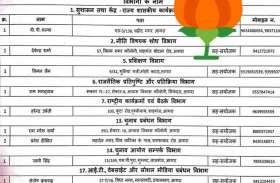 भाजपा के इन नेताओं को मिला दीपावली का सबसे बड़ा गिफ्ट, लोकसभा चुनाव 2019 से पहले ये सूची की गई जारी...