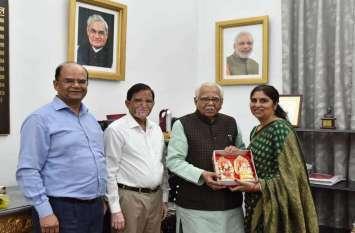 उत्तर प्रदेश के राज्यपाल  राम नाईक को दीपावली की मिली बधाई