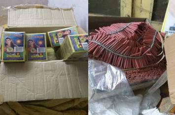 सुप्रीम कोर्ट की सख्ती के बीच दिल्ली पुलिस ने जब्त किए 650 किलो पटाखे
