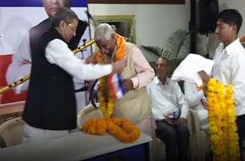 'घनश्याम तिवाड़ी' की पार्टी को मिला बल, अब इन 5 दिग्गजों ने ज्वाइन की 'भारत वाहिनी'
