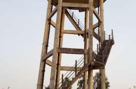 लापरवाही की भेंट चढी सोलर एनर्जी से संचालित नल जल योजना