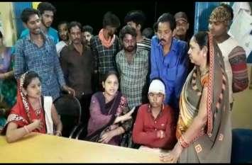 जोगी कांग्रेस के प्रचार वाहन पर हुआ पथराव, कार्यकर्ताओं ने भाजपा पर लगाया आरोप