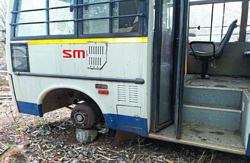 मुख्यमंत्री के शहर में सिटी बस बंद, यात्रियों की बढ़ी परेशानी