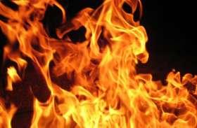 दीपावली पर एक घर में लगी आग, दो बेटे और मां की मौत