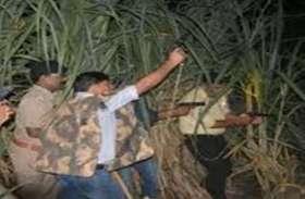 दिवाली की रात पुलिस ने पटाखों की जगह चलार्इ गोली, बदमाशों के छुड़ा दिये छक्के