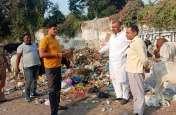 सपा विधायक ने मेयर को बताया दोषी, कूड़े के चलते शहर को लगी बीमारी