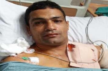 आंतकवादी हमले में किशनपुरा का जांबाज फौजी घायल