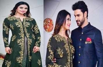 दिवाली पर दिलकश अंदाज में नजर आईं दिव्यांका, ग्रीन ड्रेस में पति संग दिखीं ट्रेडिशनल लुक में