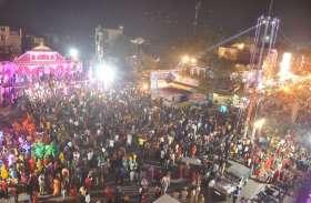 दिवाली की रात जगमगाया चित्तौड़ शहर