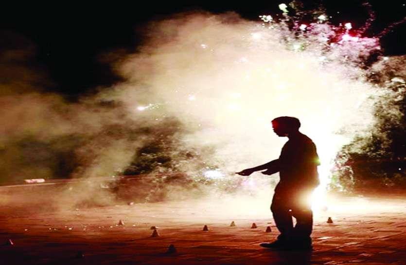 मुहिम का दिखा असर, दिवाली में पटाखों से वायु प्रदूषण में आई कमी
