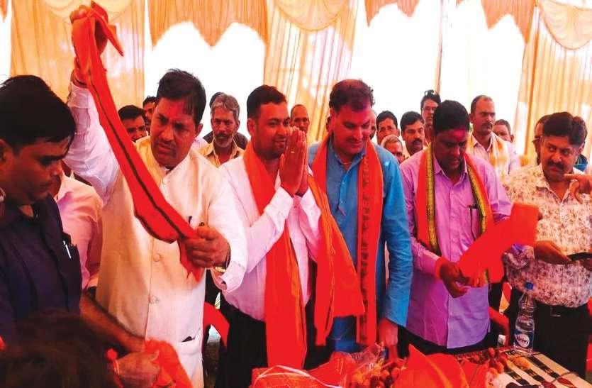 बसपा-जोगी कांग्रेस गठबंधन के प्रत्याशी ने किया भाजपा प्रवेश