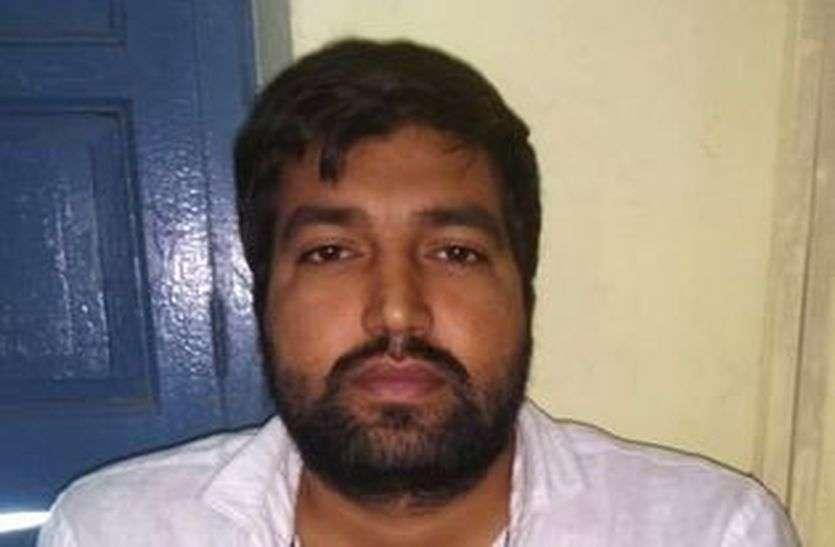 क्रिकेट पर बुकी-सट्टा करने का मुख्य आरोपित गिरफ्तार