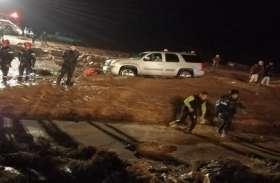 जॉर्डन : मूसलाधार बारिश के बाद आई बाढ़ में 11 की मौत