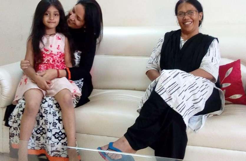 पीहू फिल्म की बाल कलाकार पहुंची अंबिकापुर, कहा- मेरा नाम मायरा है, सभी मुझे पीहू बुलाते हैं