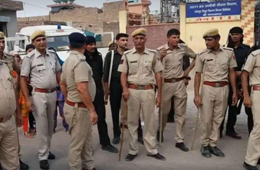 राजस्थान के इन तीन जिलों में आई पुलिस की शामत, लोगों ने इस बात पर कर दी धुनाई