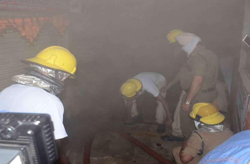 Fire in Ravi Bhawan