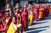 कलशयात्रा के साथ कांकरोली में रामचरित मानस कथा महोत्सव का आगाज