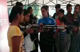 Patrika humrah: मस्ती की पाठशाला में स्वस्थ रहने के गुर के साथ सीखी निशानेबाजी, स्केटिंग और भी बहुत कुछ ...