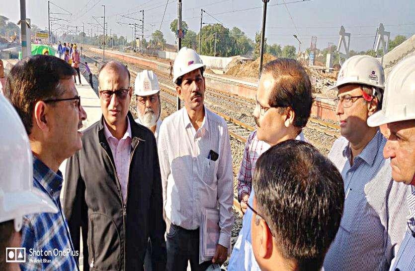 लोहानी ने गांधीनगर कैपिटल रेलवे स्टेशन का लिया जायजा