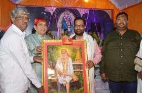 श्री साईं बाबा के मंदिर का छठवां स्थापना दिवस, भजन संध्या के बाद विशाल भंडारे का भी हुआ आयोजन