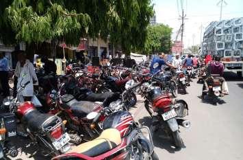 पुलिस प्रशासन के राजस्व वसूली के चक्कर में बिगाडे शहर के हालत