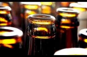 लाख 35 हजार 500 रुपए की अवैध शराब व महुआ लाहन जब्त