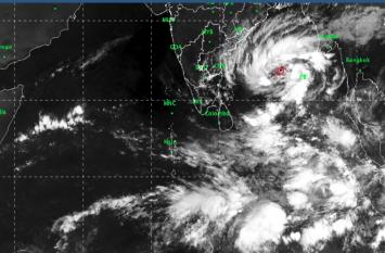 मजबूत हुआ चक्रवती तूफान 'गाजा', रेड अलर्ट जारी, इन इलाकों में दो दिन तक बारिश का पूर्वानुमान