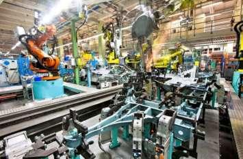 सितंबर में औद्योगिक उत्पादन घटकर 4.5 फीसदी पर पहुंचा