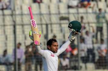 BANvsZIM: 421 गेंदों का सामना कर मुश्फिकुर रहीम ने खड़ा किया रनों का पहाड़, ध्वस्त हुआ वर्ल्ड रिकॉर्ड