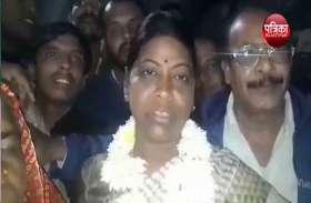 अनीता भदेल ने टिकट मिलने पर पार्टी का जताया आभार