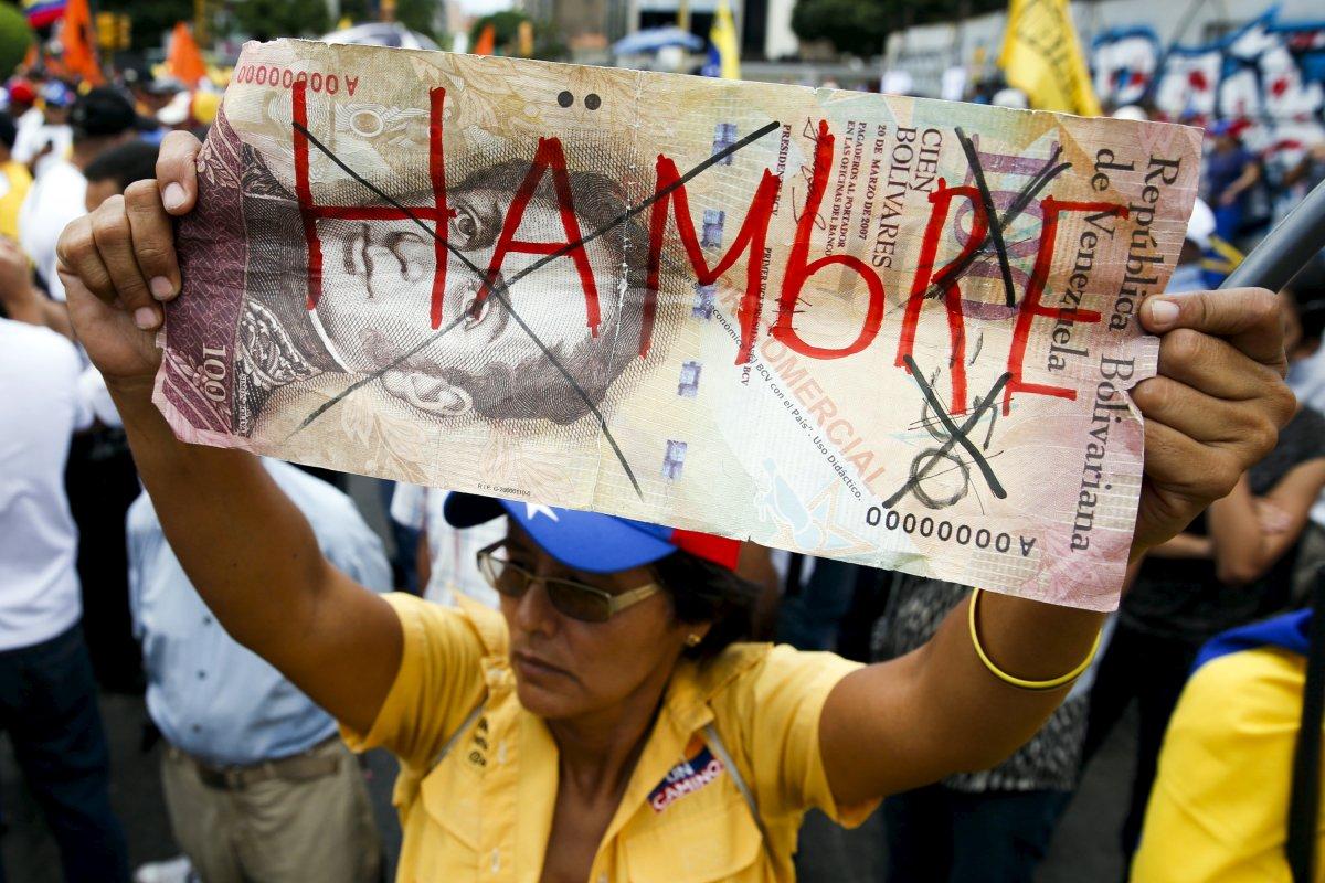 वेनेजुएला में साल के अंत तक रिकॉर्ड तोड़ महंगाई