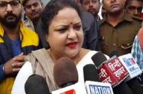 योगी की इस मंत्री ने छठ की दी कुछ ऐसे बधाई, अनोखे अंदाज का वीडियो जमकर हो रहा वायरल