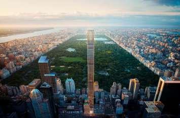 दुनिया की सबसे पतली बिल्डिंग में बुकिंग हुई शुरू, सबसे सस्ता अपार्टमेंट 131 करोड़ का और...