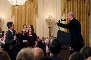 न्यूज चैनल ने अमरीकी राष्ट्रपति ट्रंप के खिलाफ ठोका मुकदमा, पत्रकार पर लगे बैन हटाने की मांग
